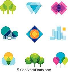 Transparent city logo landscape bea