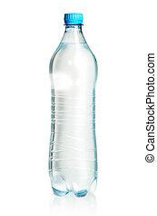 closed plastic bottle