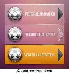 Transparent Dropdown sport menu. Vector illustration.