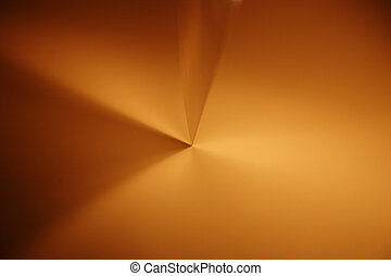 Transparent lights geometry. Abstract photo of technical...