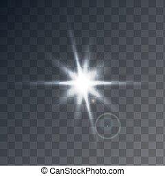 transparent, lumière soleil