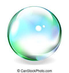 Transparent sphere