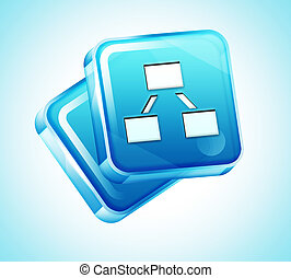 Transparent to the 3d icon