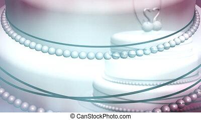 Transparent Wedding Cake Loop