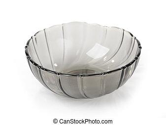 Transporent bowl isolated