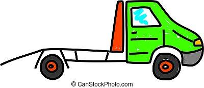 transport, återvinnande