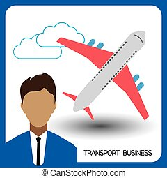 Transport business with a person an
