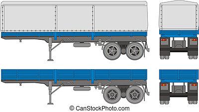 transport, caravane