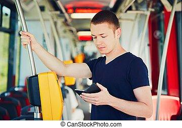 transport commun, voyager