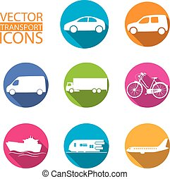 transport design icons