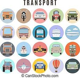 transport, ensemble