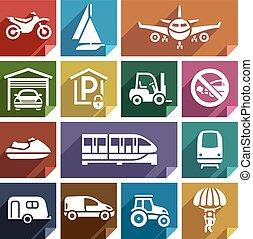 Transport flat icon-08