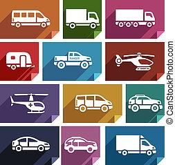 Transport flat icon