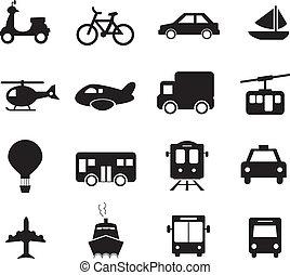 transport, icône