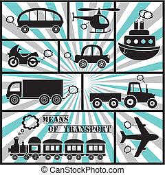 transport, iconerne