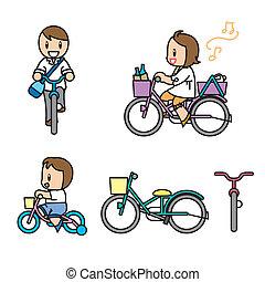 Transport illust set