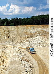Transport in the mining industry