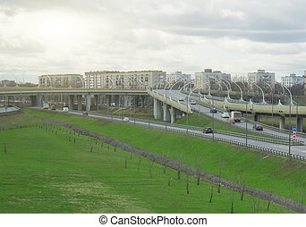Transport interchange at the intersection with the Tallinn...