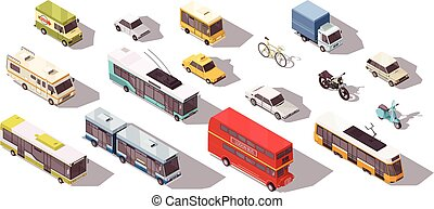 Transport Isometric Set