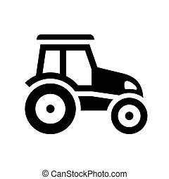 Transport on the road - Vehicle, black icon silhouette...