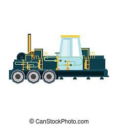 transport, pétrole, véhicule