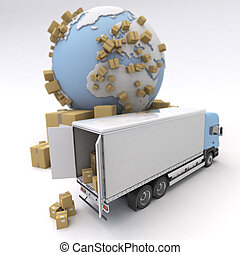 transport, produit