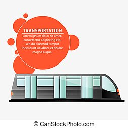transport public electric train design