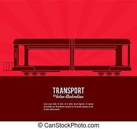 transport train vehicle design