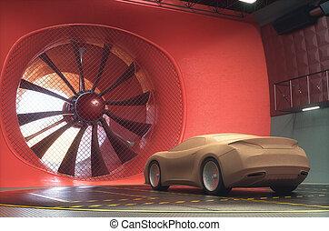 transport, tunnel, auto, design, tonerde, wind