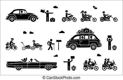 transport., vário, tipos