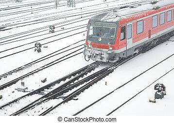 transport, Vinter, publik