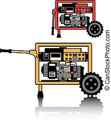 transportabel generator