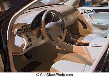 transportation 048 auto show inside car