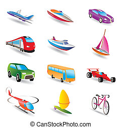 transportation and travel - different kind of transportation...