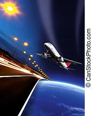 Travel artwork - Transportation artwork. Travel artwork....