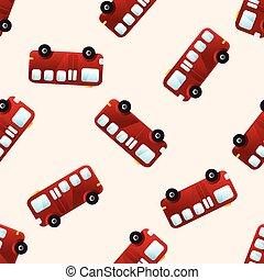 transportation bus theme elements