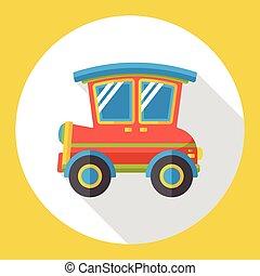 transportation car flat icon