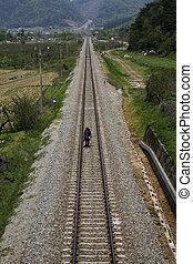 Transportation in South Korea, Railroad train