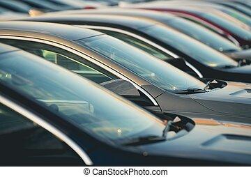 Automotive Dealership New Cars