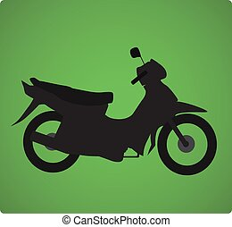 transportation motorcycle icons