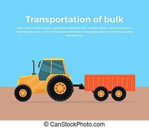 Transportation of Bulk Banner Design - Transportation of...