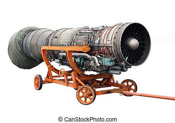 Transportation of the engine