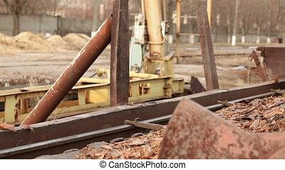 transportation of wood industrial