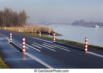 Transportation over water or road