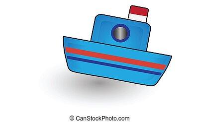transportation ship icons