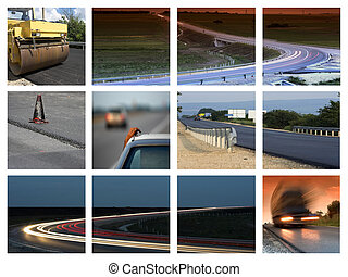 transportation - This is a  transportation themed collage