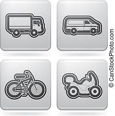 transportations, icons:, przemysł