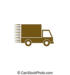 transporte, ícone