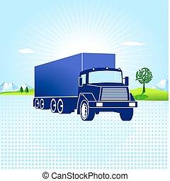transporte, logistic
