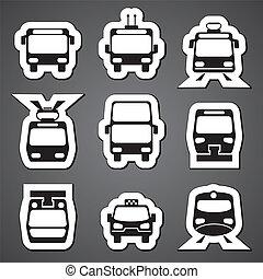 transporte público, etiqueta